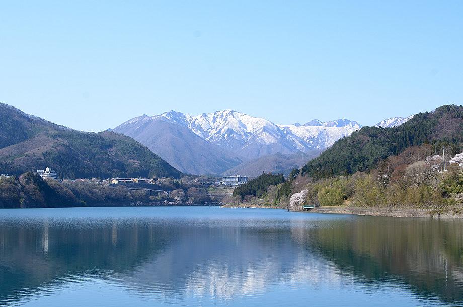 赤谷湖の景色