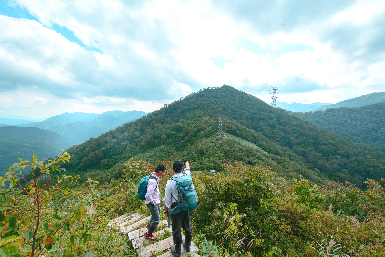 三国山トレッキング