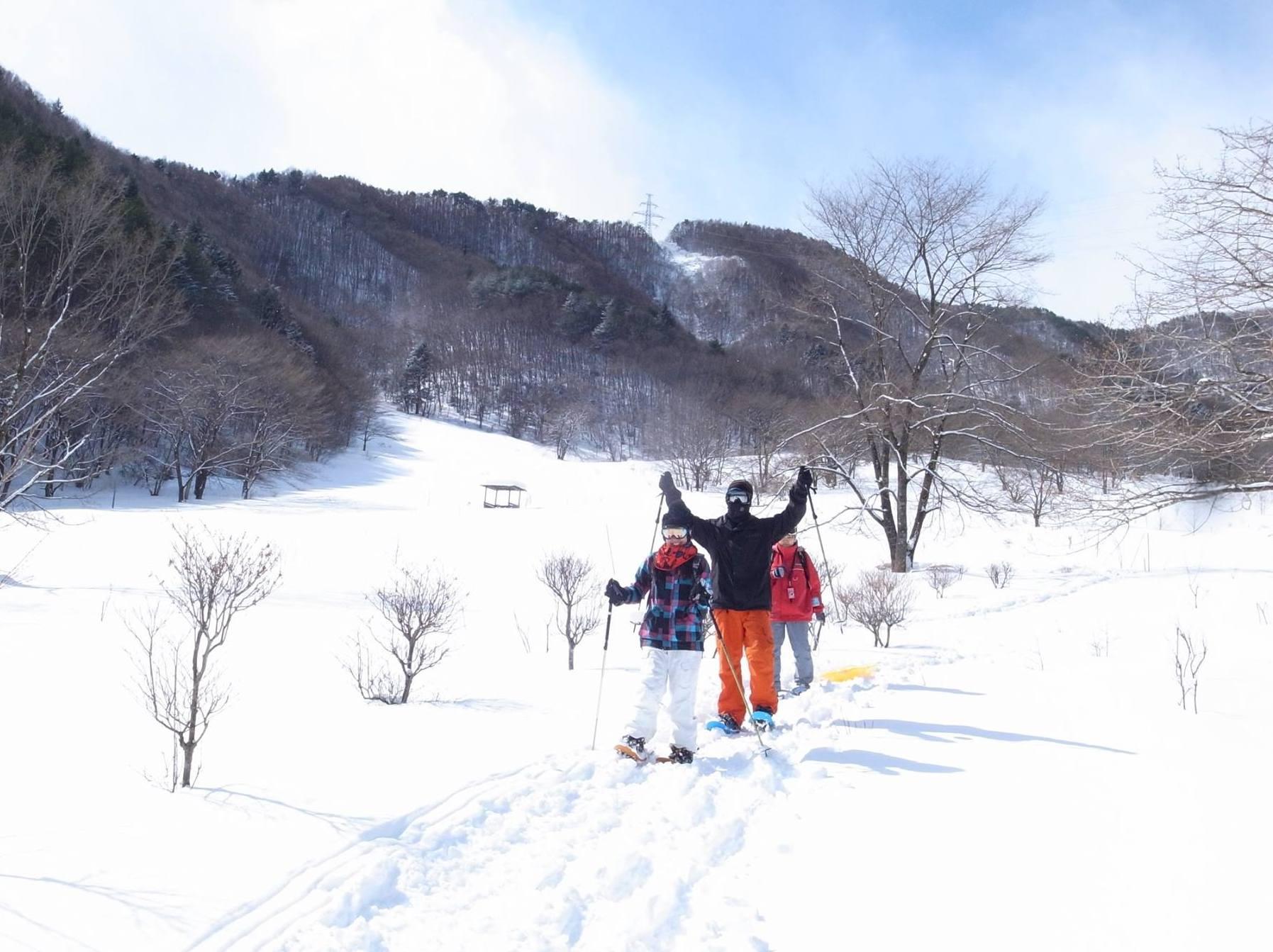 猿ヶ京温泉 里山スノーシュー